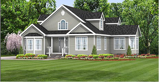 Crestline modular homes home review for Off site built homes